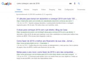 Como criar um blog SERP de buscas do Google